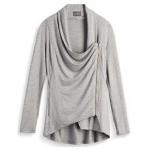 Market & Spruce alan french terry cardigan sweater